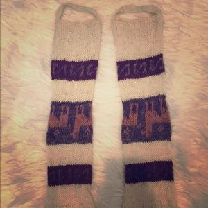 Accessories - Alpaca leg warmers.